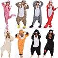 Zorro de Pollo Oso Cuidados Cheshire Cat Zebra Fox Onesie Animal Pijamas Pijamas Traje de Dormir Para Hombres de Las Mujeres Pijamas