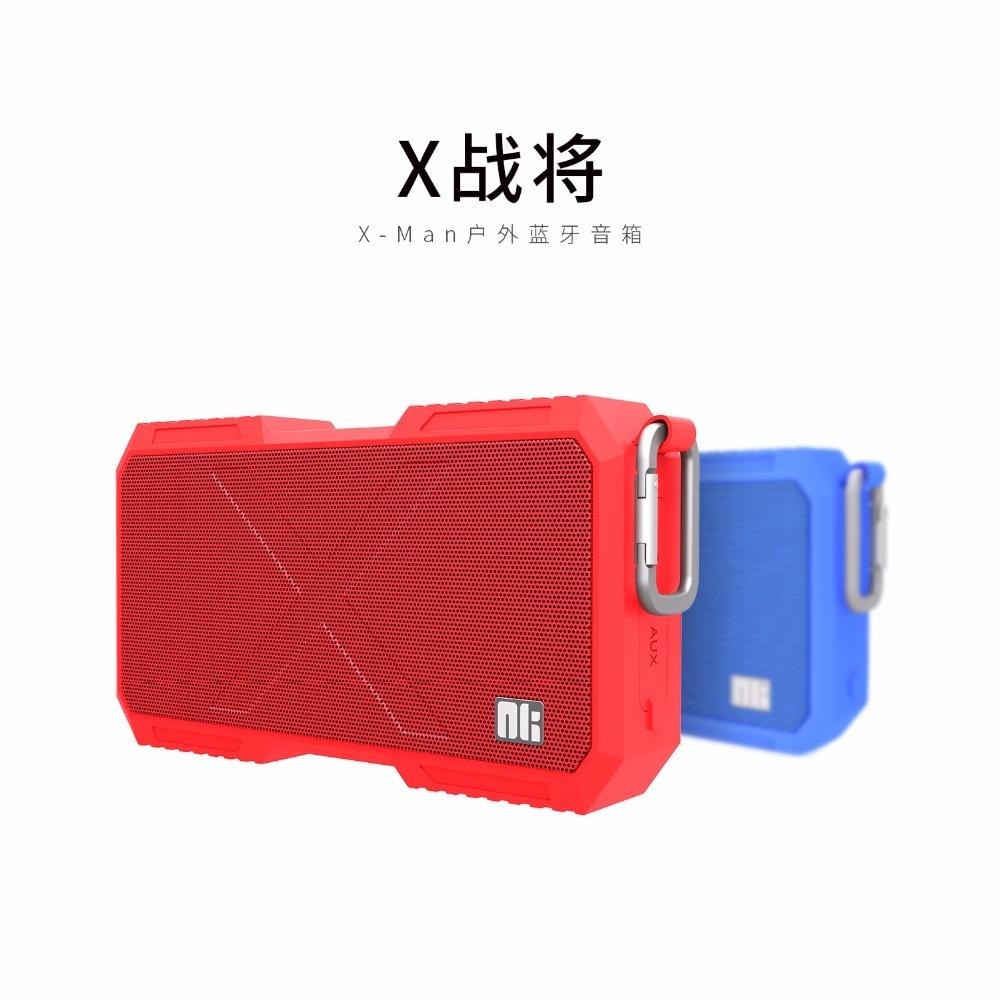 Nillkin x homem fio surround speaker sem fio bluetooth speaker música carregador de telefone para xiaomi para samsung para iphone oneplus zuk