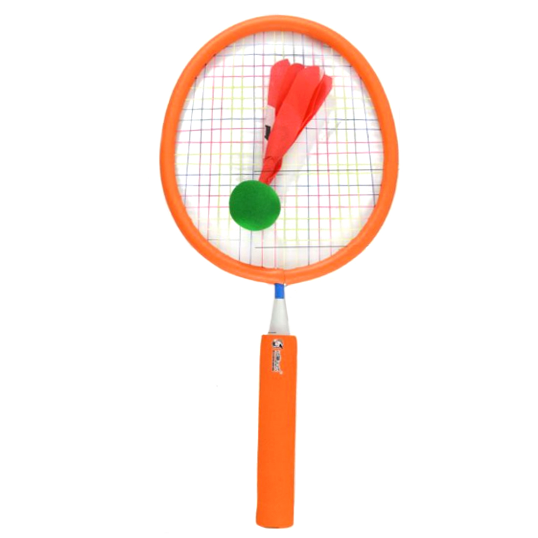Cycle Zone Children Badminton Racket Safety Sports Training Tool Toys Set - Orange