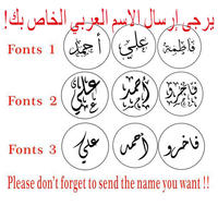 Arabic Words Letters Customize Logo Personalized Image Custom Seal Wax Sealing Stamp Wedding Invitation Retro Antique