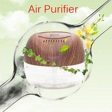 2150 мл текстура древесины портативный очиститель воздуха офис домой освежитель увлажнение промывочной воды свежего воздуха машина KS-03CLWG