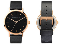 The Horse Watch Women Quartz Leather Wrist Watch Hot Style Fashion  Black and Gold Vintage Watch Free Shopping