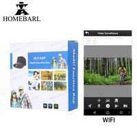 720P Full HD Video Recorder Sport Riding Action Mini Portable Camera WIFI Remote Control Cap Hat Max Support 64GB Micro SD Card