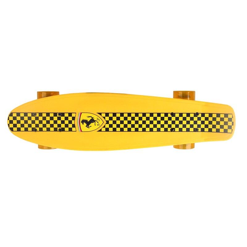 Enfant Quatre Roues Double Cruiser Planche À Roulettes flip skate board pour enfants garçon Max chargement 50 kg - 4