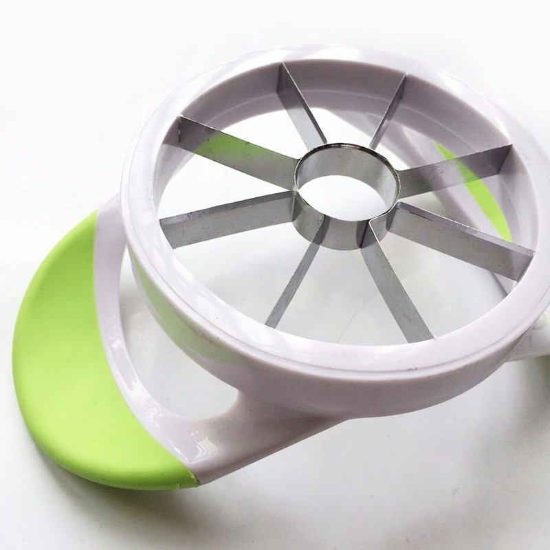 High-quality kitchen creative stainless steel fruit slicer cut apple fruit device Pear Muskmelon cutter separator free shipping 5