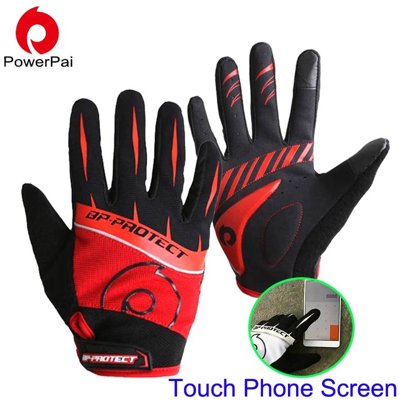 High Quality mtb Bike Ciclismo Finger Gloves Completa Touch Screen guanti da moto Gel per gli uomini le donne escursioni guantes luva ciclismo