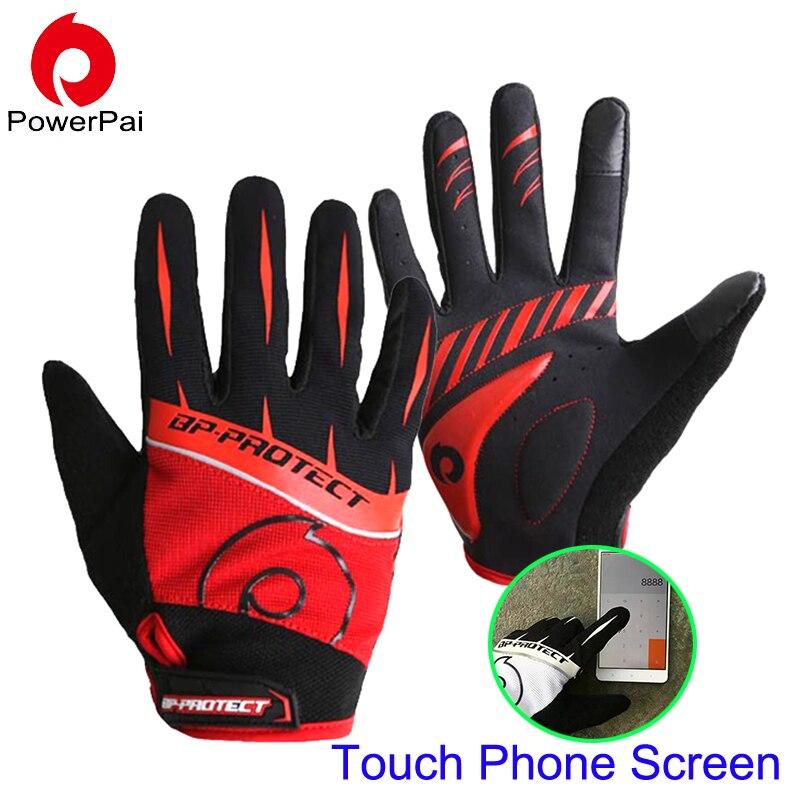 Hohe Qualität mtb Fahrrad Radfahren Handschuhe Vollfinger Touch Screen motorrad handschuhe Gel für männer frauen wandern guantes luva ciclismo