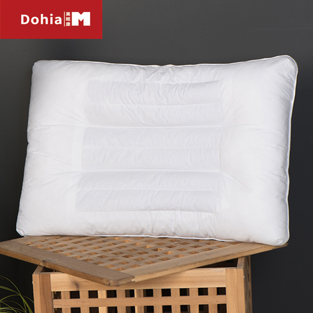 Dohiammk Buckwheat Hull Pillow Pure Cotton Great For Neck Pain