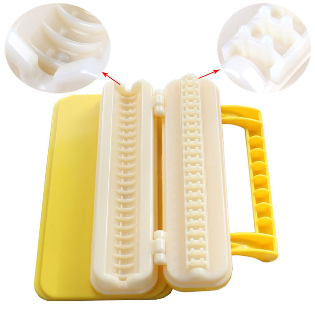 Meat skewer machine abs plastic and meat string device