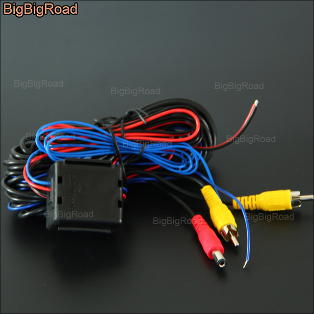 bigbigroad for car rear view reverse backup camera ccd parking rh aliexpress com filter fuse box co to jest filter and fuse box purpose