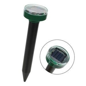 Image 3 - NICEYARD Für Haushalt Garten Hof Pest Repeller Mole Repellent Outdoor Garten Solar Power Ultraschall Schlange Vogel Mosquito Maus