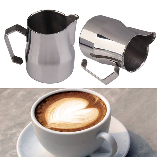 350cc 500cc Stainless Steel Milk Frothing Coffee Mug Cup Espresso Jug Latte Tools Kitchen Accessories