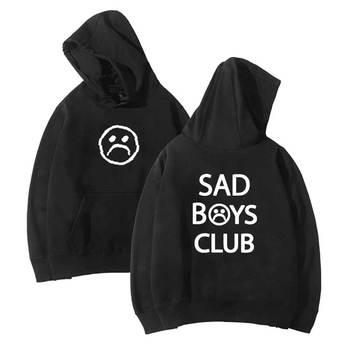 Hip hop sad boy club men hoodies harajuku Hoodie cotton Sweatshirt Streetwear Hoodies drop shipping clothes