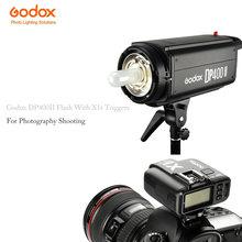 Godox DP400II 400 W Pro Fotografia Flashes de iluminação Temperatura de Cor 0.3-1.2 s Tempo de Reciclagem 2.4 GHz Flash Strobe Luz do estúdio