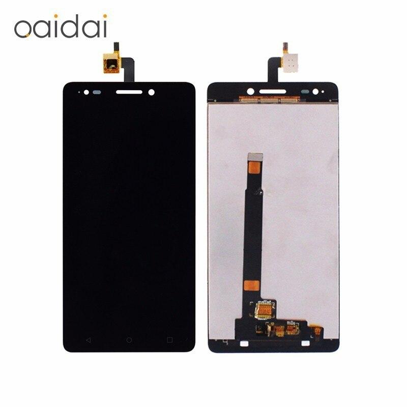 Display LCD Touch Screen Para BQ Aquaris M5.5 12956 Lcds Do Telefone Móvel Peças de Reposição Montagem Digitador Com Ferramentas Livres