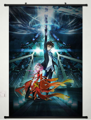 Guilty Crown Yuzuriha Inori HD Print Anime Wall Poster Scroll cosplay