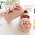 Zapatos de Niña, Con Tres Dimensiones Flor Rosa Lindo Bebé Zapatos Para 0-5 Años de Edad Los Niños Niñas Plantilla 11-15 CM 721