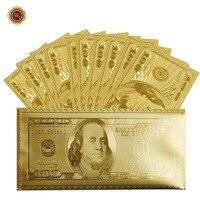 WRอเมริกาดอลลาร์ทองธนบัตรสหรัฐอเมริกา100ดอลลาร์ทองธนบัตรสกุล