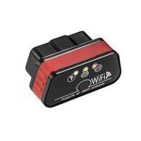 New Super Mini KW901 WIFI ELM327 V1 5 ODB2 OBDII Car Diagnostic Scanner Tool ELM 327