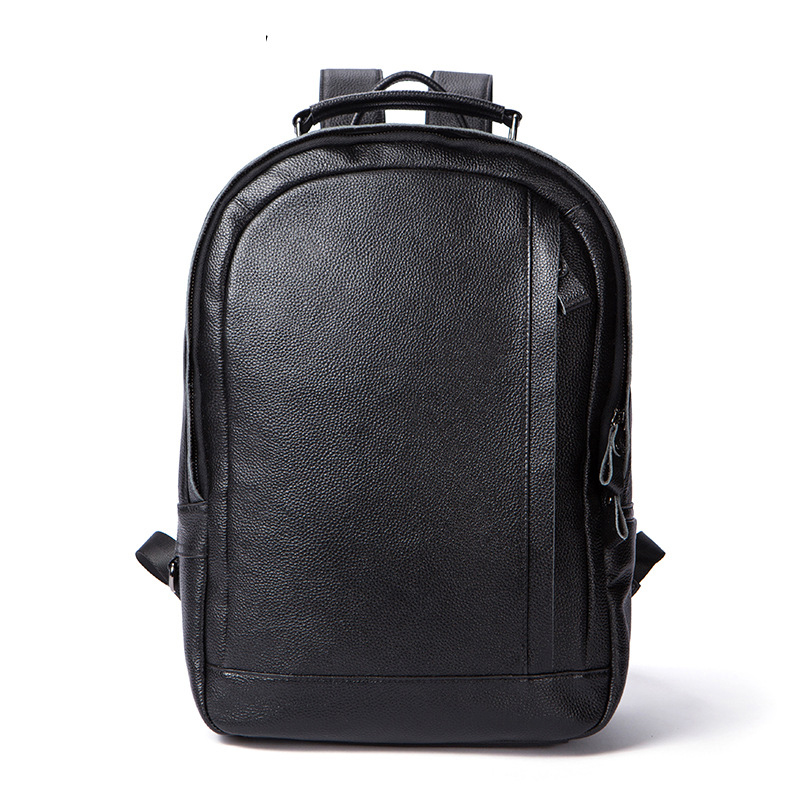 New Brand 100% Genuine Leather Men Backpacks Fashion Real Natural Leather Student Backpack Boy Luxury Business Laptop School BagNew Brand 100% Genuine Leather Men Backpacks Fashion Real Natural Leather Student Backpack Boy Luxury Business Laptop School Bag