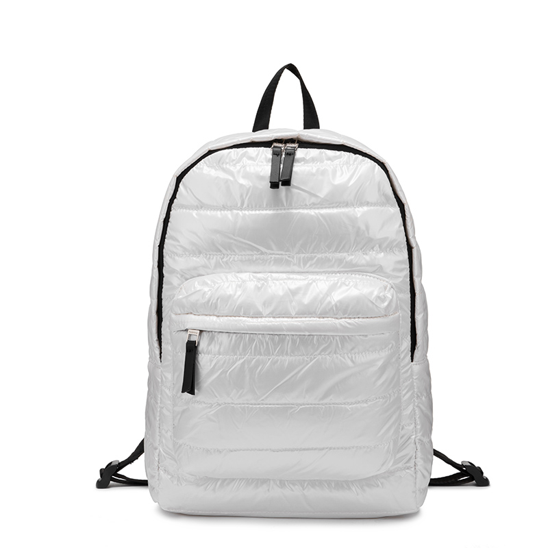 Fashion Backpack School-Bags Ladies Teenagers Travel Girls Women for Down-Material Space-Down