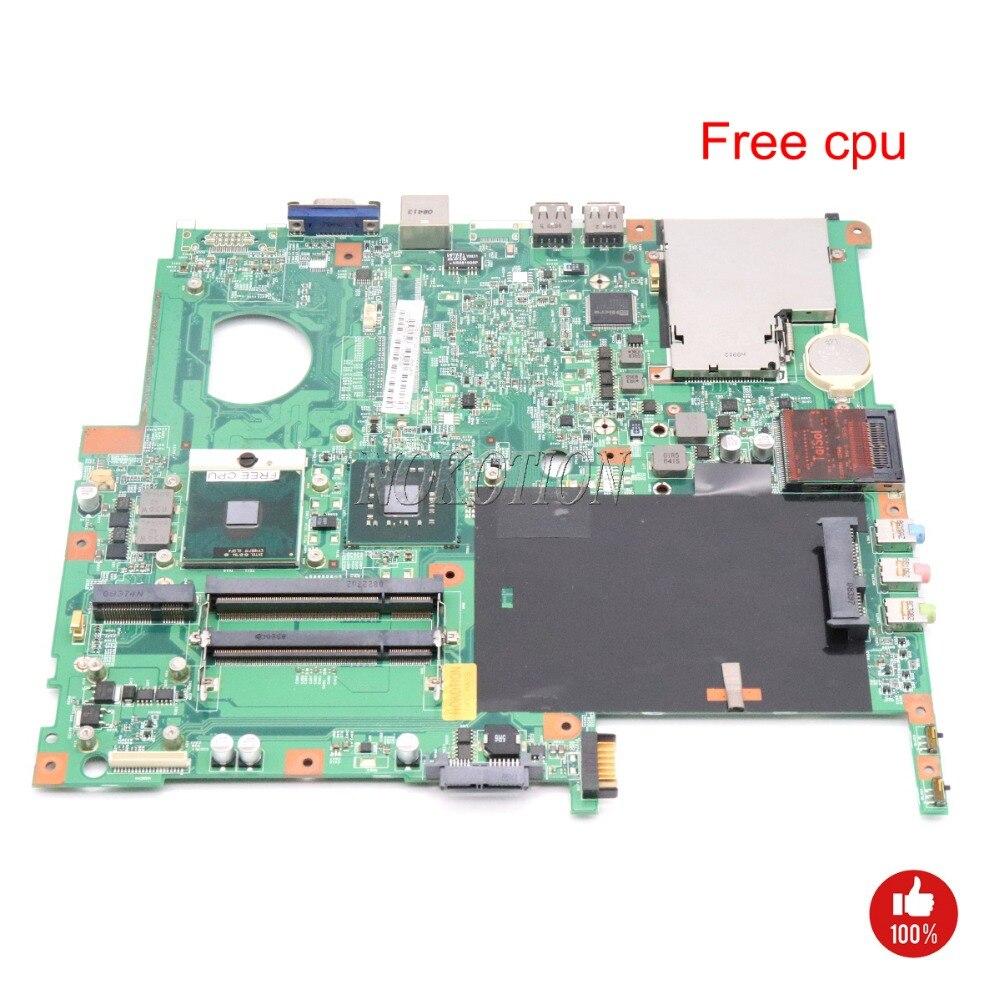 NOKOTION MB TRM01 001 MBTRM01001 48 4Z401 01M Laptop Motherboard For Acer Extensa 5630 5220 GL40