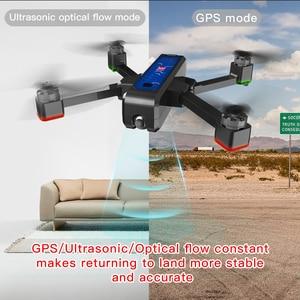 Image 5 - Mjx Bugs4 W B4w 5g Wifi Fpv Gps bezszczotkowy składany ultradźwiękowy Rc Drone 2k aparat przeciwwstrząsowy przepływ optyczny zdalnie sterowany Quadcopter Vs F11