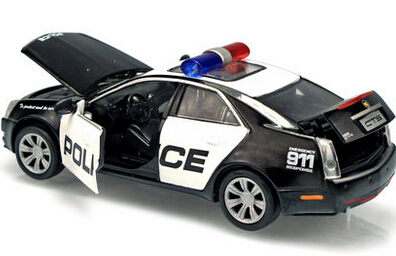In The Cadillac Cts Police Car Four Door Acoustooptical Warrior