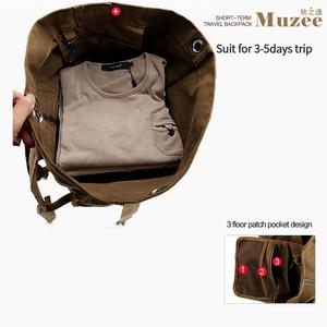 Image 2 - Muzee Huge Travel Bag Large Capacity Men backpack  Canvas Weekend Bags Multifunctional Travel Bags