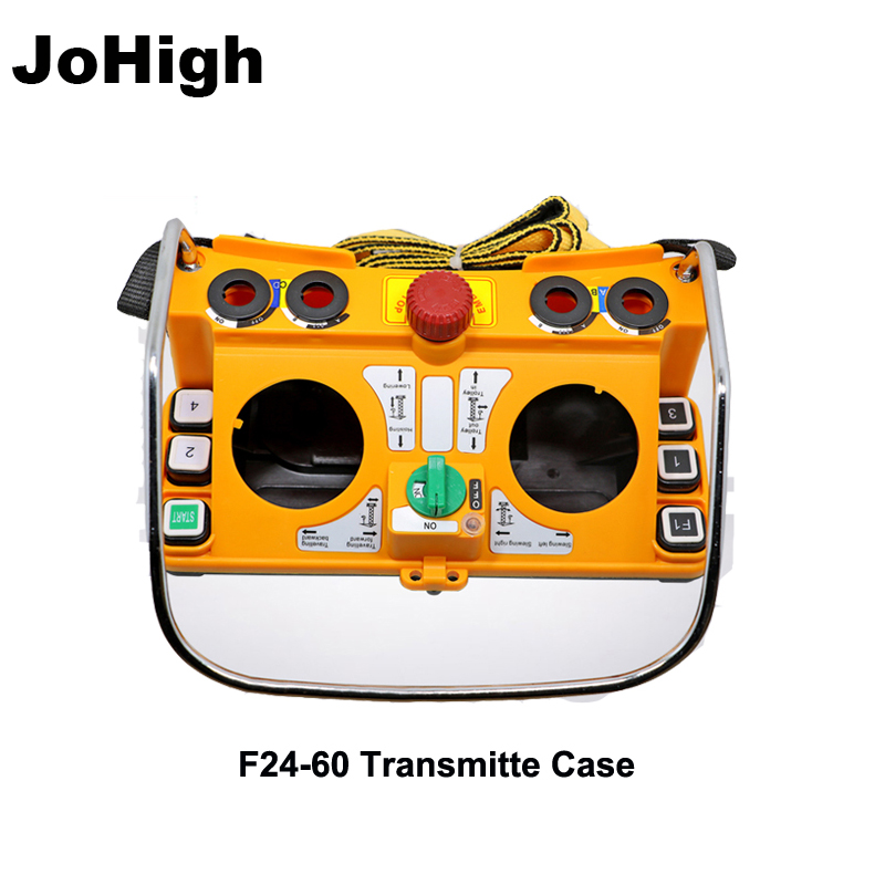 JoHigh F24 60 Wireless Industrial Electric Hoist Remote Control Rocker Remote Tranimitter Case