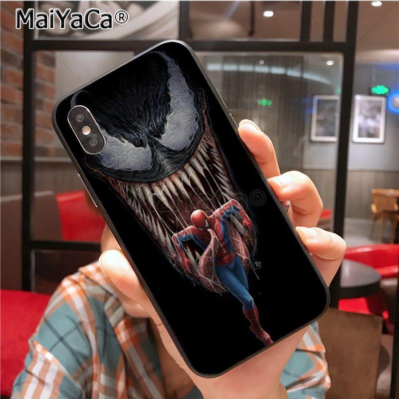 MaiYaCa Venom Newest Super Cute Phone Cases for iPhone X XS XR XS MAX 7plus 6 6s 7 8 8Plus 5 5C case