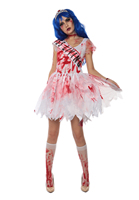 Cheap New Arrival halloween zombie fancy cosplay costume 3S1710 Free shipping Sexy party costume