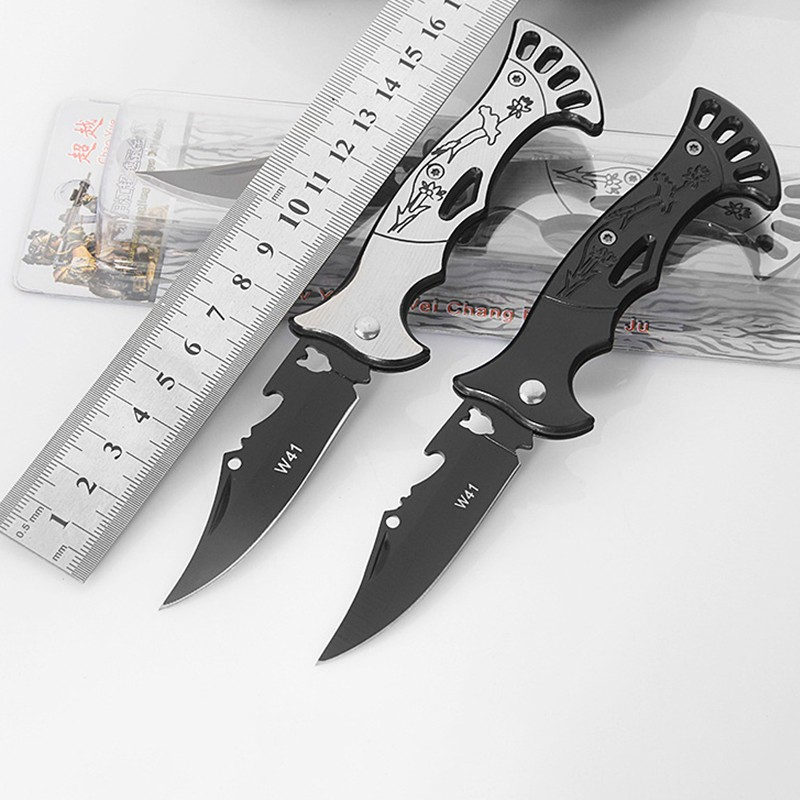 Multifunction Folding Fold Knife Portable Camping Mini PeelerTactical Rescue Survival Outdoor Tool Hunting knife outdoor multifunction camping tools axe aluminum folding tomahawk axe fire fighting rescue survival hatchet