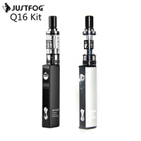 5pcs Lot Original Justfog Q16 Starter Kit With 900mah Li Ion Battery And Justfog Q16 Clearomizer