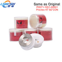 LSKCSH 25pcs/lot same quality as original precitec ceramic KT B2 CON P0571 1051 00001 KT B2 CON for Ermaksan/ han's laser