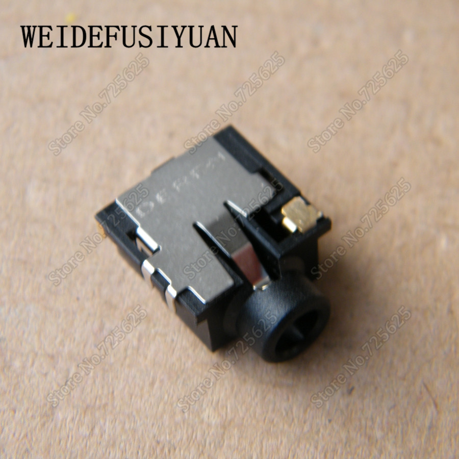 New Audio Headphone Microphone Jack Socket for HP Pavilion G4 G6 G7 G4-2000 G6-2000 G7-2000 6Pin Connector 683029 501 683029 001 main board fit for hp pavilion g4 g6 g7 g4 2000 g6 2000 laptop motherboard socket fs1 ddr3