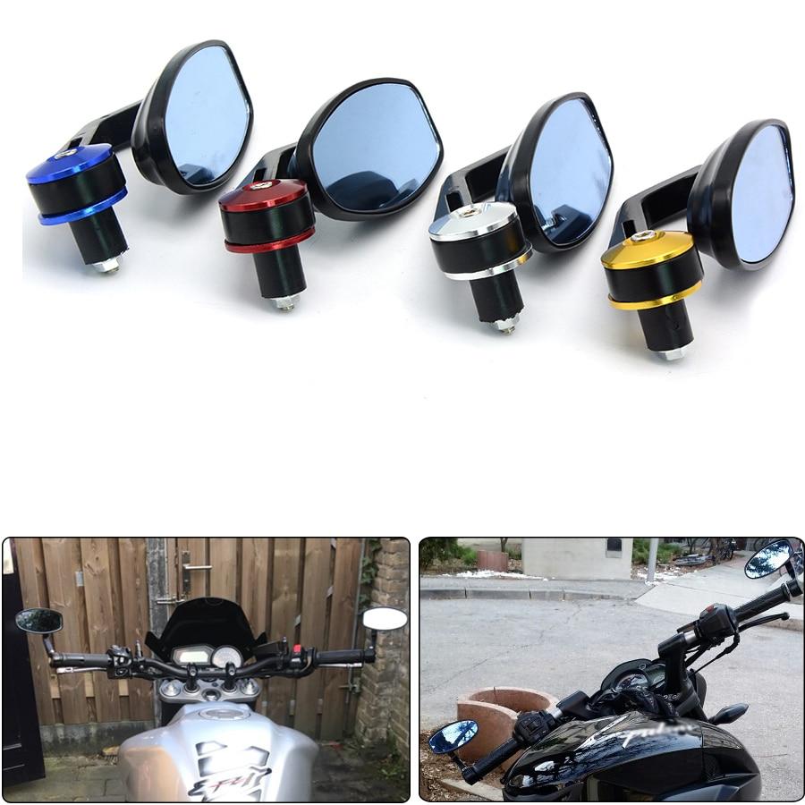 Универсальный гонщик мотоцикл скутеры зеркало заднего вида сбоку ручки бар конец зеркала для KTM Дюк 690 990 125 200 DUKE390 Хонда VN400