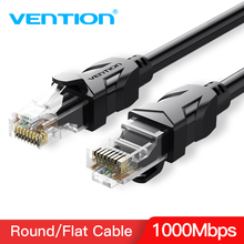 Vention Ethernet Cable Cat6 Lan UTP RJ45 Network Patch 1m 10m 20m 30m For PS2 PC Computer Router