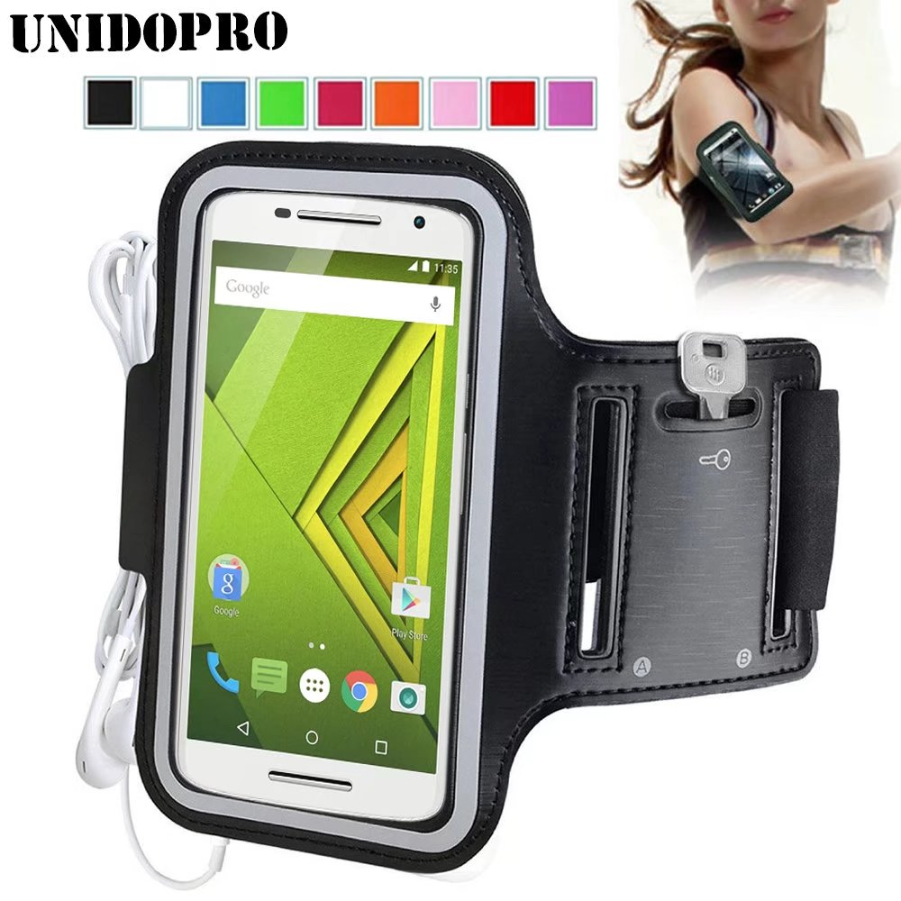 new concept 3f8b2 a51b0 US $2.98 25% OFF|for Motorola Moto X Style Waterproof Sport Arm Band  Leather Case for Motorola Moto G4 Plus X Play Moto Z Sport Runing Arm  Bag-in ...