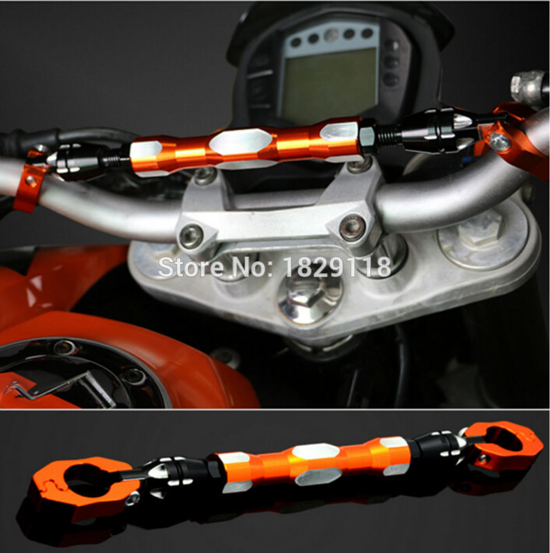 Motorcycle spring For CF400 Duke KTM 125 DUKE 200 DUKE 390 handlebar balance bar can be stretched cross bar motorcycle cnc balance bar for ktm 125 duke 200 duke 390 handle rebar handlebar modification parts accessories balance bar
