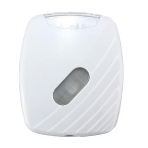 Image 4 - Jiguoor 新 Led 人間 motion 起動 Pir 光センサートイレ led ライトボウル浴室 Led ナイト活性化 motion ライト