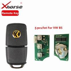 X001-01 xhorse remoto chave 3 botões placa para b5 tipo vvdi2 mini programador remoto chip programa chave 5 pçs/lote