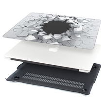 3D Explosion Stone Design Hard Cover Case for New Macbook Pro 13 inch Air 11 12 with Keyboard Cover