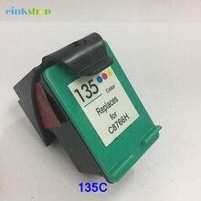 1pcs Compatible for HP 135 Color Ink Cartridges C8766H DJ 6840/5740/Photosmart 2710/2610 Printer