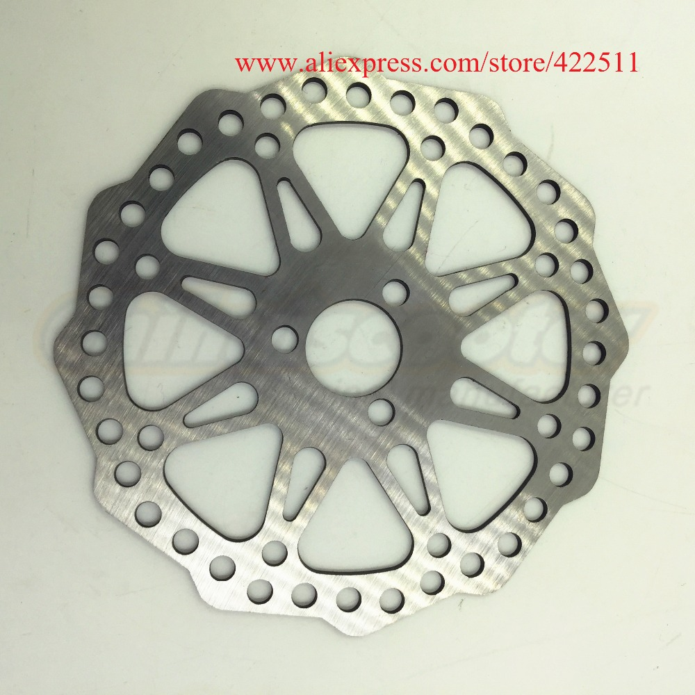 Новый Диск тормозной диск (OD = 120 мм/ID = 19 мм) для 200*50 (8*2) Колёса (дети скутер запасных Запчасти)