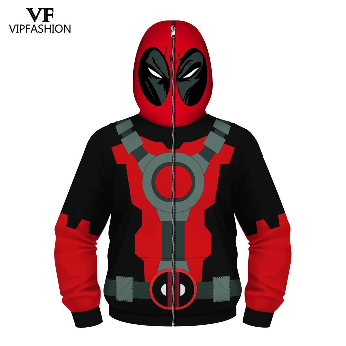 Image 5 - VIP FASHION Children's Boys Zpper Hoodies Avengers Marvel Superhero Iron Man Captain America Spiderman Kid Cartoon Jacket 4 13T-in Hoodies & Sweatshirts from Men's Clothing
