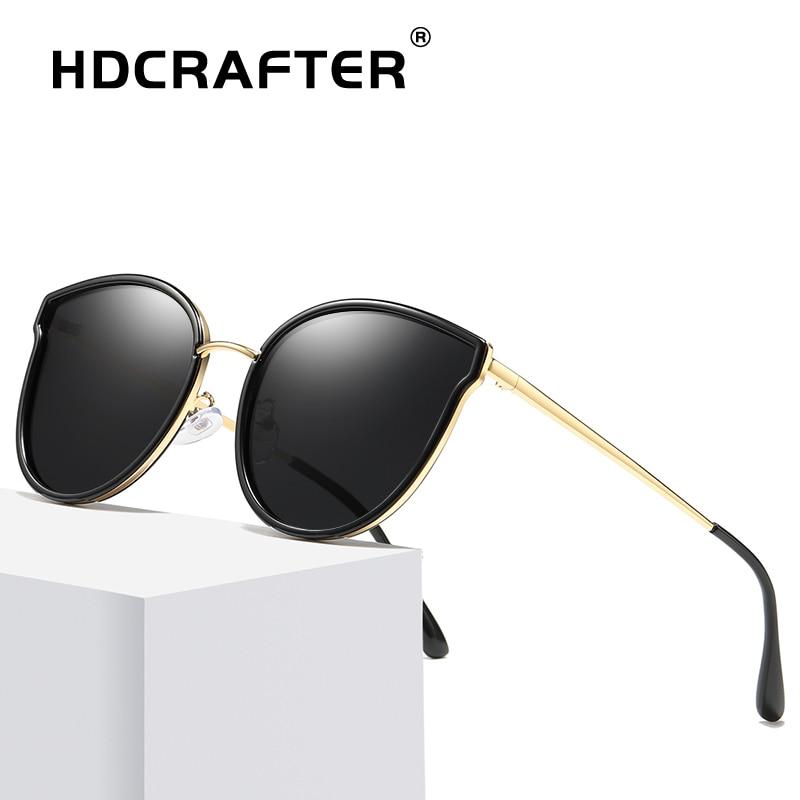 Sunglasses Polarized Women Vintage Cat Eye Sunglasses Retro Women's Glasses UV Protection Sun Glasses Ladies gafas de sol mujer