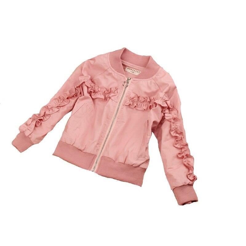 a87ed74866aca 2019 printemps filles veste enfants vêtements enfants vêtements bébé fille  veste coton décontracté Baseball manteau filles