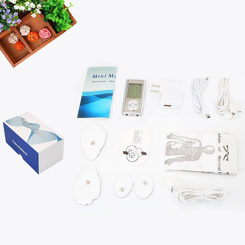 New Mini Rechargeable Physiotherapy Acupuncture Massager Muscle Health Care