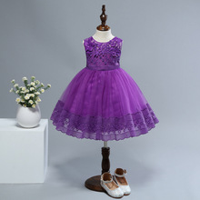2019 Fashion Birthday Party Princess Dress For Toddler Girls Up Kid Costume Baby Clothing Kids 1-4 Years